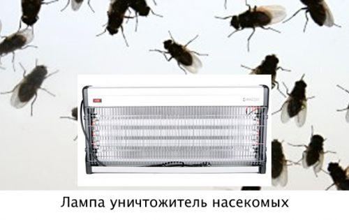 Лампа уничтожитель насекомых