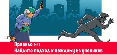Правило самозащиты №1